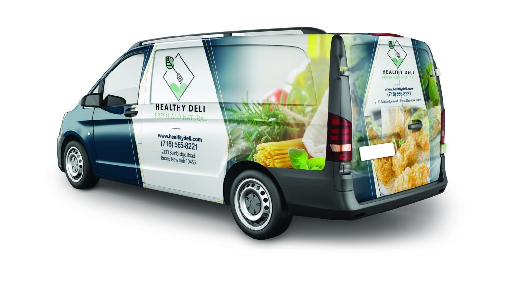 Vehicle Graphics Food